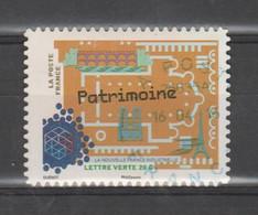 "FRANCE / 2014 / Y&T N° AA 1060 : ""France Industrielle"" (Patrimoine) - Oblitéré 2016 04 16. SUPERBE ! - Adhesive Stamps"