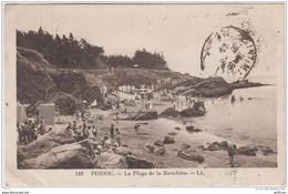 PORNIC LA PLAGE DE LA BIROCHERE 1934 - Pornic