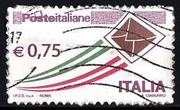 Italia 2011 Uf. 3305 Posta Italiana Busta Che Spicca Il Volo Viaggiato Used Used - 2001-10: Usati