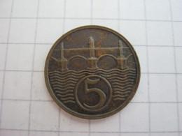 Czechoslovakia 5 Haleru 1938 - Czechoslovakia
