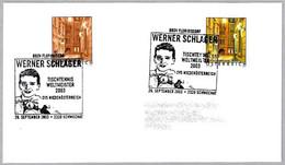 WERNER SCHLAGER - Campeon Del Mundo TENIS DE MESA - TABLE TENNIS. Schwechat 2003 - Tischtennis
