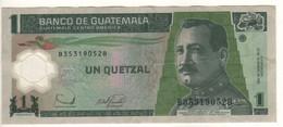 GUATEMALA  1 Quetzal    Polimer    P109    20.12.2006 - Guatemala