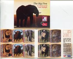 Südafrika South Africa Markenheftchen Booklet 24.2.2006 Mi# 1692-6 Postfrisch/MNH - Fauna Big 5 - Boekjes