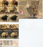 Südafrika South Africa Markenheftchen Booklet 31.7.2007 Mi# 1745-9 Postfrisch/MNH - Fauna Big 5 - Boekjes