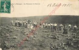 Sur La Montagne .  Les Extracteurs De Gentiane . ( Cantal ) . - Zonder Classificatie