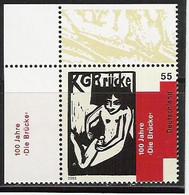 """2005 Deutschland  Allem. Fed. Germany  Mi. 2458**MNH  EOL 100 Jahre Künstlergruppe """"Die Brücke - Nuovi"""