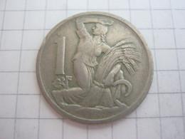 Czechoslovakia 1 Koruna 1922 - Czechoslovakia