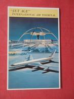 """Jet Age"" International Air Terminal  California > Los Angeles    Ref 4407 - Los Angeles"