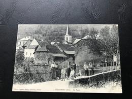 COLOMIEU Le Pont - 1909 Timbrée - France