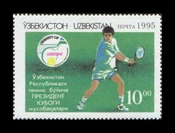 Uzbekistan 1995 Mih. 70 President's Cup Tennis Championships MNH ** - Oezbekistan