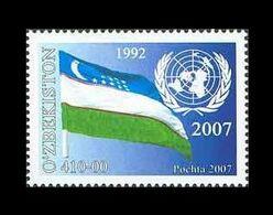 Uzbekistan 2007 Mih. 712 Uzbekistan Membership In United Nations MNH ** - Uzbekistan