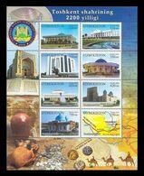 Uzbekistan 2009 Mih. 819/26 Tashkent City MNH ** - Uzbekistan
