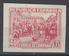 España NE 49ers ** Correo De Campaña. 1939. Impreso En Anverso Y Reverso - 1931-50 Neufs