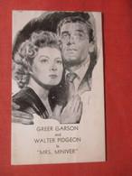 Greer Garson & Walter Pidgeon In Mrs Miniver     Ref 4408 - Film