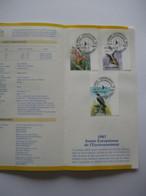 Feuillet De La Poste 2244-46 Ferrières - Année Européenne De L'environnement - Europeese Jaar Van Het Leefmilieu - Documentos Del Correo