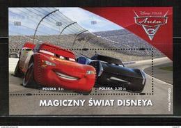 PL 2017 MI BL 262 The Magic World Of Disney - Cars ** - Blocs & Hojas