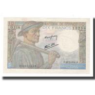 France, 10 Francs, Mineur, 1946, 1946-09-26, SUP, Fayette:8.15, KM:99e - 1871-1952 Antichi Franchi Circolanti Nel XX Secolo