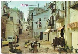 CPSM - IBIZA - Calle Tipica (voitures , 4L, Ami 8) - Ibiza