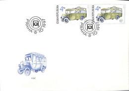 [907887]B/TB//-République Tchèque 1997 - PRAHA, Bus & Autocars, Transports - Bus