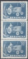 ROMANIA - 1959 - Lotto Di 3 Valori Nuovi MNH Uniti Tra Loro: Yvert 1629. - Neufs