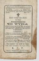 Souvenir Mortuaire DE WYELS Joanna (1800-1877) Geboren Te GOYCK Overleden Te ONZE-LIEVE-VROUW-LOMBEEK - Andachtsbilder