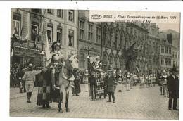 CPA Carte Postale  Belgique-Mons-Fête Carnavalesque Groupe J. D'Arc 1914 VM22234 - Mons