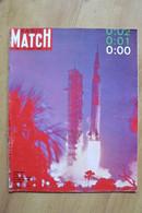 Paris Match N° 1055 Du 26 Juillet 1969 - Mission Apollo XI - Salvador Dali - General Issues