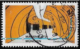 2020  U-Bahn Stationen - Used Stamps