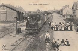 CARTE POSTALE   ISDES 45  Gare Du Tramway - Otros Municipios