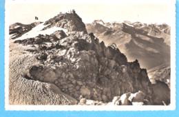 Suisse-Davos-Parsenn(Grisons)-1949-Weissfluh-Gipfel-2846m) Mit Piz Kesch Und Berninagruppe-Berghaus K.Caviezel - GR Graubünden