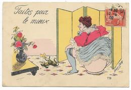 XAVIER SAGER-Faites Pour Le Mieux... 1909 - Sager, Xavier