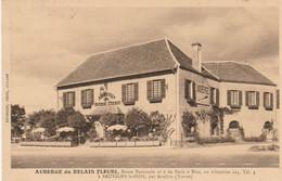 CARTE POSTALE   SAUVIGNY LE BOIS 89  Auberge Du Relais Fleuri - Sonstige Gemeinden