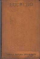 LUCREZIO DELLA NATURA DELLE COSE - ISTITUTO EDITORIALE ITALIANO - MILANO - ILLUSTRATORE DUILIO CAMBELLOTTI - Pagine 318 - Andere