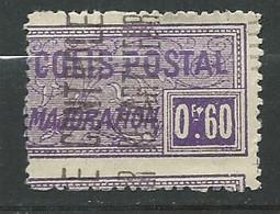 Algérie  Colis Postaux     Yvert N°  13 (*) Neuf Sans Gommes PIQUAGE DEPLACE     - Ad41110 - Paquetes Postales