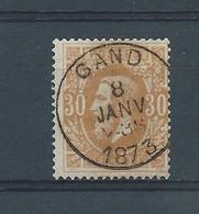N°33 OBLITERE GAND - 1869-1883 Léopold II