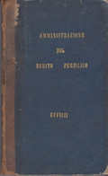 AMMINISTRAZIONE DEL DEBITO PUBBLICO - CODICE DI COMMERCIO PER GLI STATI DI S.M. IL RE DI SARDEGNA - 1846 - Pagine 269 - Anciens