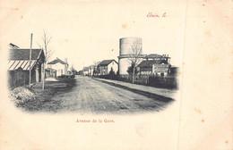 ETAIN  - Avenue De La Gare ( Carte Nuage Precurseur ) - Etain