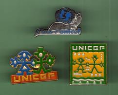 UNICEF *** Lot De 3 Pin's Differents  *** 1013 (122) - Verenigingen