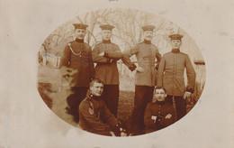 Carte Photo Militaire Guerre De 1914 15 Munsingen - Guerra 1914-18