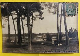 CPA - Carte Photo -  Andernos-les-Bains - Les Quinconces - Andernos-les-Bains