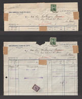 Egypt - 1948 - Rare - Statement - Italian Commercial Bank Of Egypt - Covers & Documents