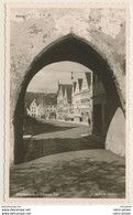 AK  Mindelheim Blick Durch Oberes Tor Auf Straße 1955  Kleinformat   Ansichtskarte - Mindelheim