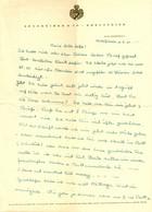 """Idar-Oberstein 1940 Rechnung /Kopf """" Edelsteine Sponheimer & Co + Wappen """" - Altri"""