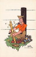"""BAR LE DUC - Lot De 2 Cartes """" Camp De BAR LE DUC 1940 """" Illustrée Par HARDY Editées Par CROIX ROUGE - Bar Le Duc"""
