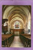 70 BUCEY LES GY Intérieur De L'Eglise St. Martin Choeur XIVe Siècle Nef Milieu XVe - Otros Municipios