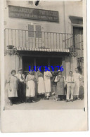 Carte Photo Ronchamp Boulangerie Patisserie Ancienne Maison Prevot Lievre Comparois  22/06/1922 Signée Lievre Comparois - Francia