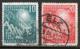 ALEMANIA FEDERAL-Mi. 111-112-Yv. 1-2 -Serie Completa -N-24527 - Used Stamps