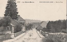 ROUVRES SUR AUBE - LA RUE DU PONT - BELLE CARTE - PETITE ANIMATION - 2 SCANNS - - Frankreich