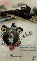 Amitiés D'Hacquegnies Circulée En 1923 - Frasnes-lez-Anvaing
