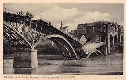 Maribor (Marburg An Der Drau) * Drau Brücke, Von Dem Feinde Gesprengt Am 6.4.1941 * Slowenien * AK019 - Slovenia